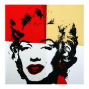 Golden Marilyn 11.38 by Warhol, Andy