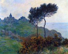 Claude Monet - Church at Varengeville