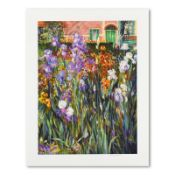 Garden at Giverny by Plisson, Henri
