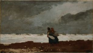 Homer - Two Figures by the Sea