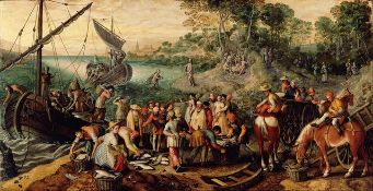 Joachim Beuckelaer - The Miraculous Catch of Fishes