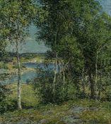 Willard Metcalf - A Family of Birches