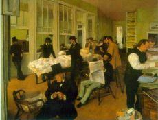 Edgar Degas - Cotton Exchange
