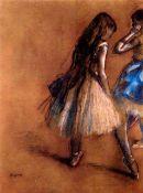 Edgar Degas - Two Dancers #1