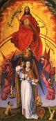 Rogier van der Weyden - Christ with the Archangel Michael