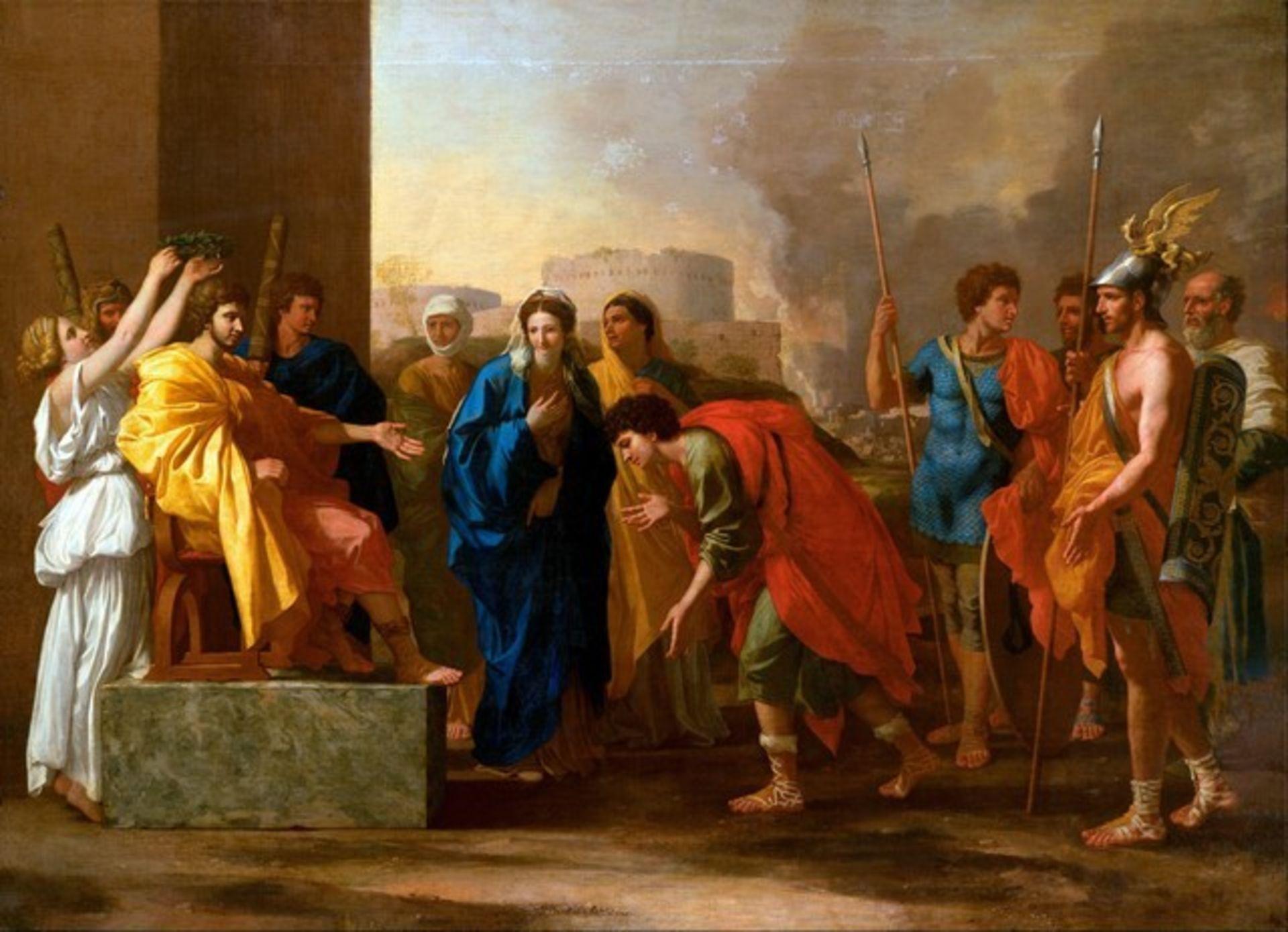 Nicolas Poussin - The Continence of Scipio