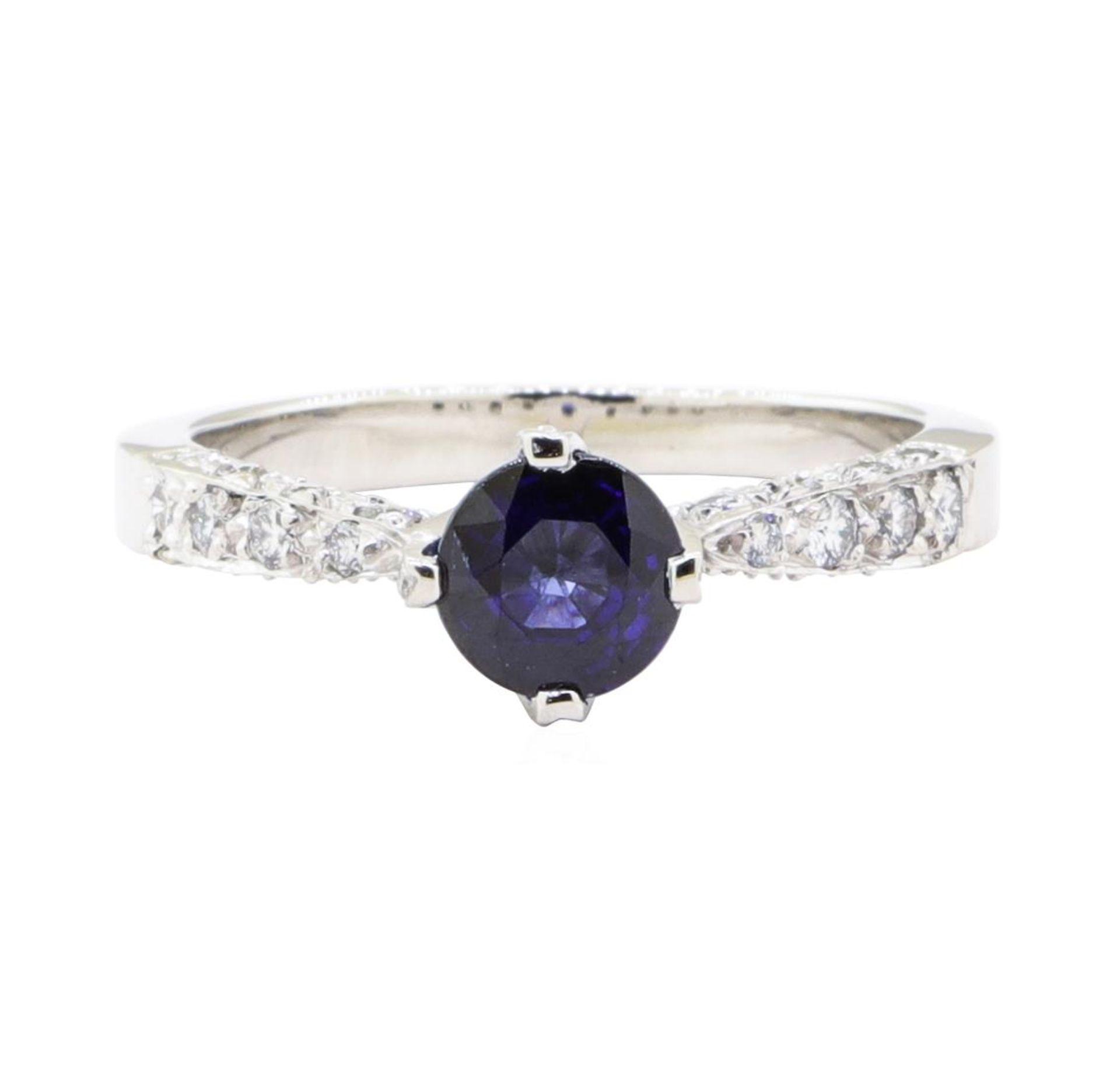 1.69 ctw Sapphire And Diamond Ring - Platinum - Image 2 of 5