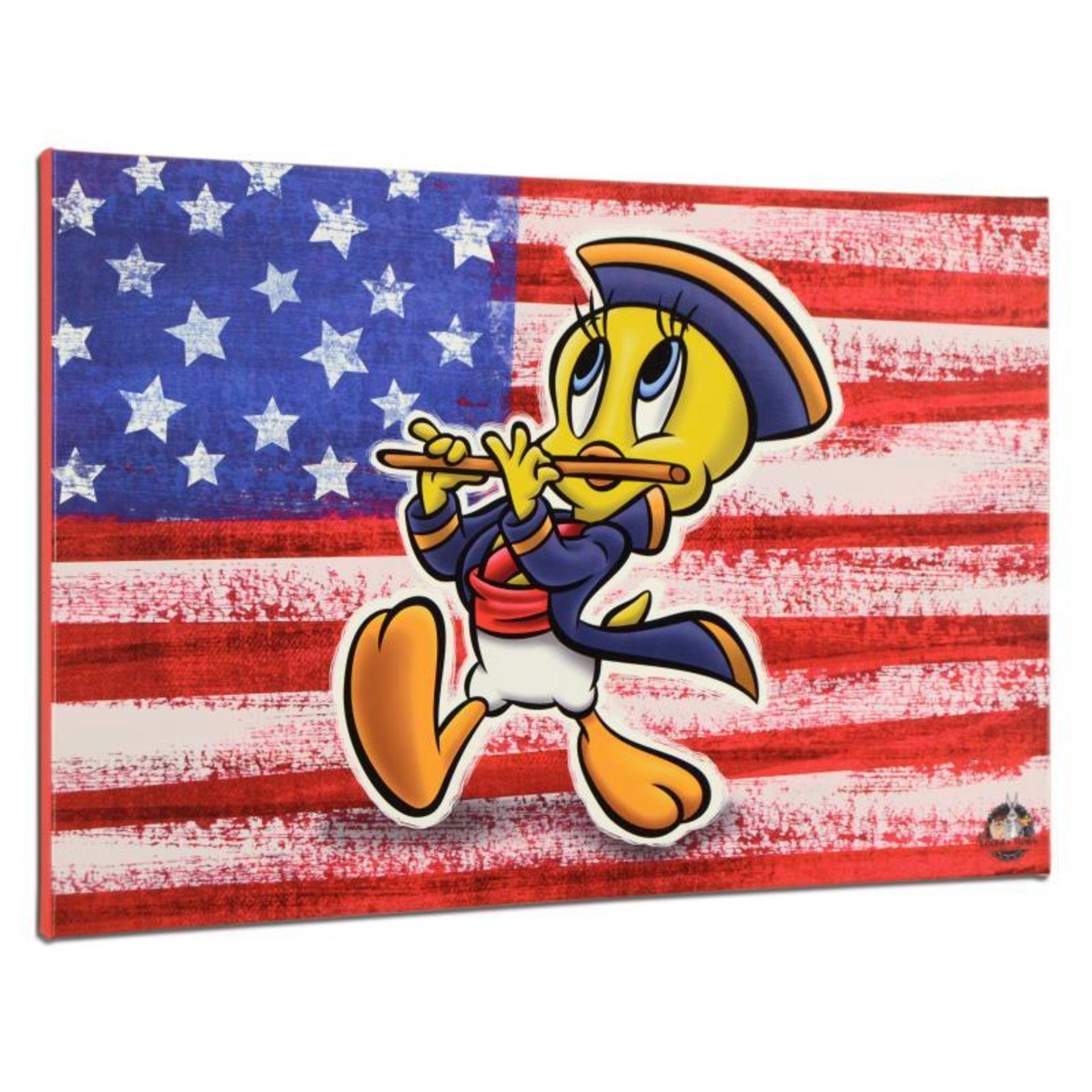Patriotic Series: Tweety by Looney Tunes - Image 2 of 2