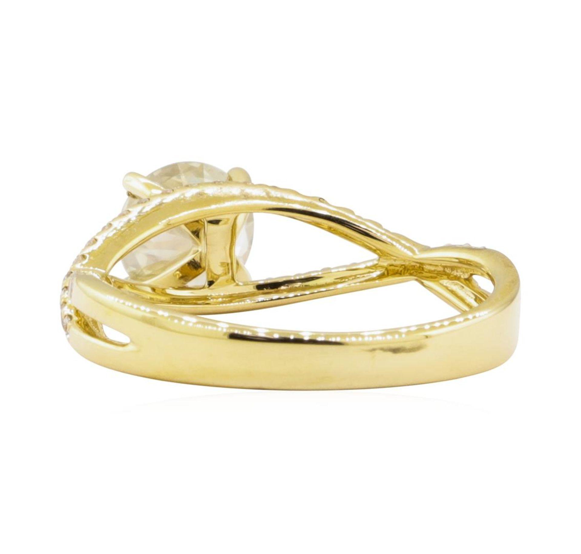 1.04ct Diamond Ring - 18KT Yellow Gold - Image 3 of 5