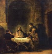 Rembrandt - Christ in Emmaus [2]