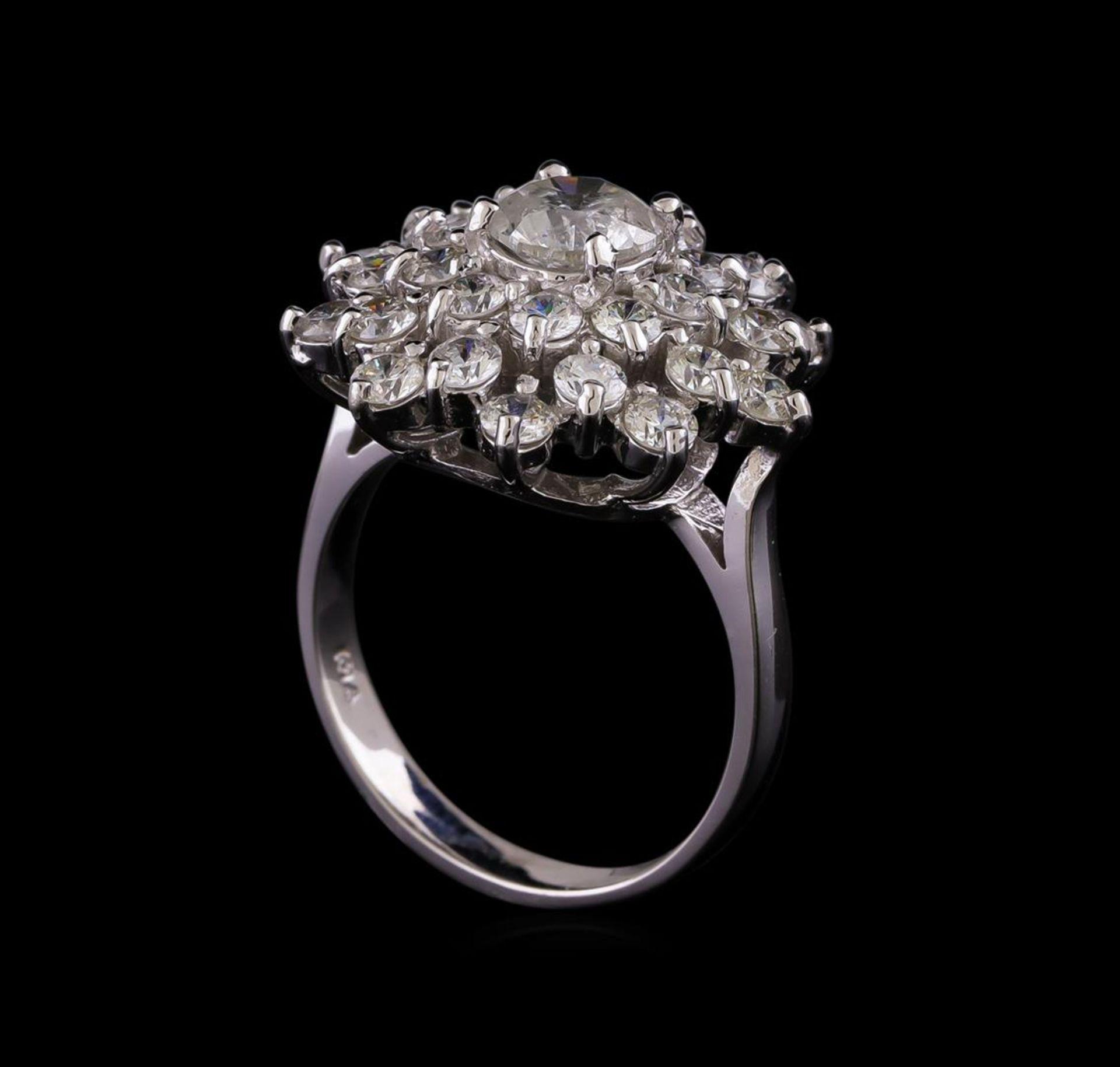 14KT White Gold 2.64 ctw Diamond Ring - Image 4 of 5