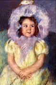 Mary Cassatt - Margo In White