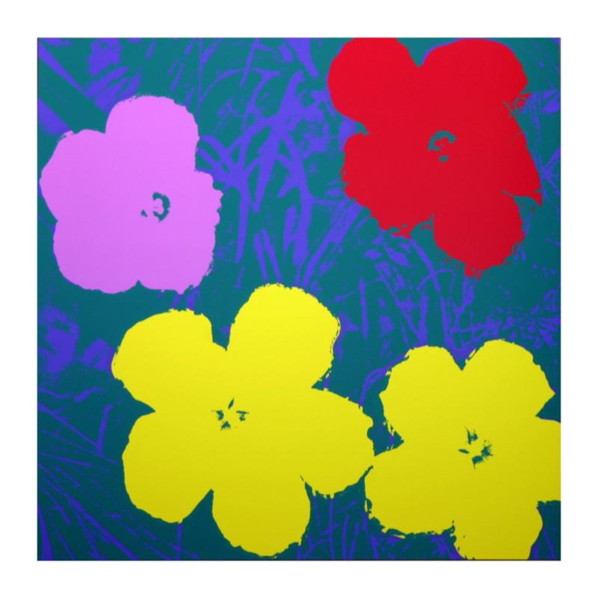 Flowers Portfolio by Warhol, Andy - Image 3 of 3