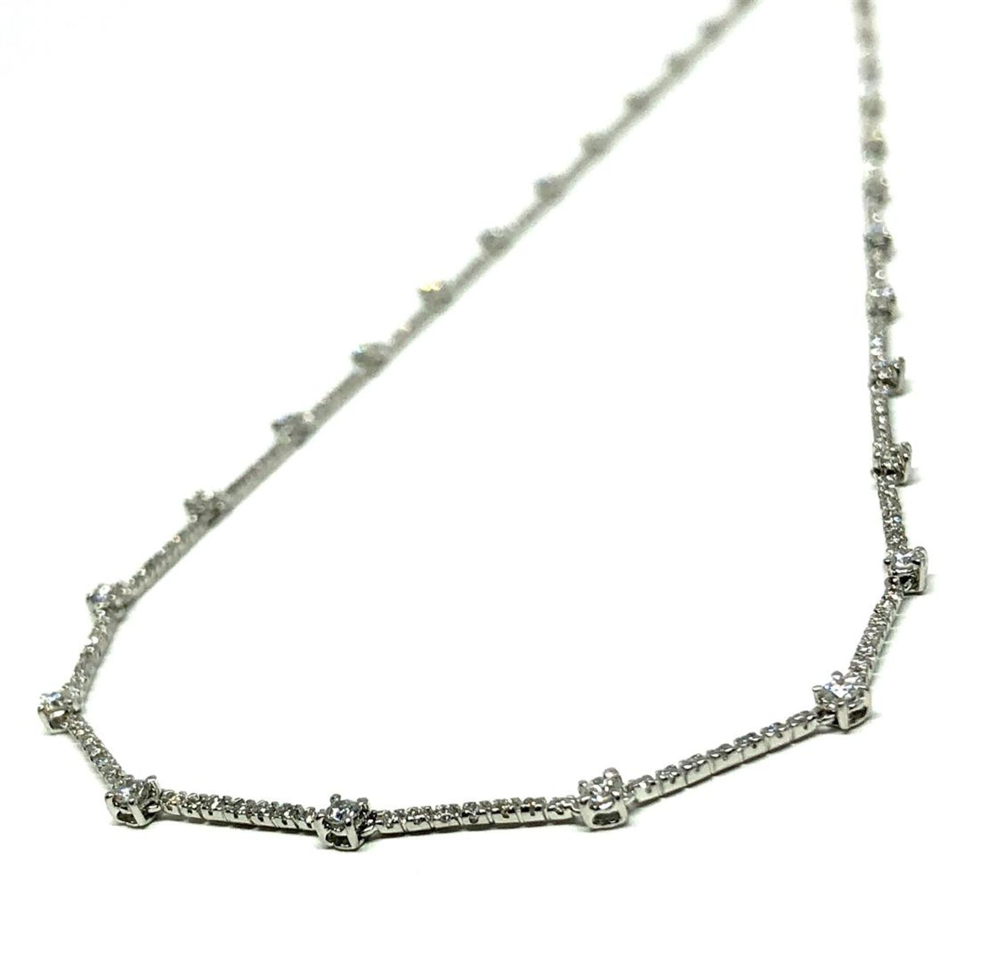 2.20 ctw Diamond Necklace - 18KT White Gold - Image 3 of 4