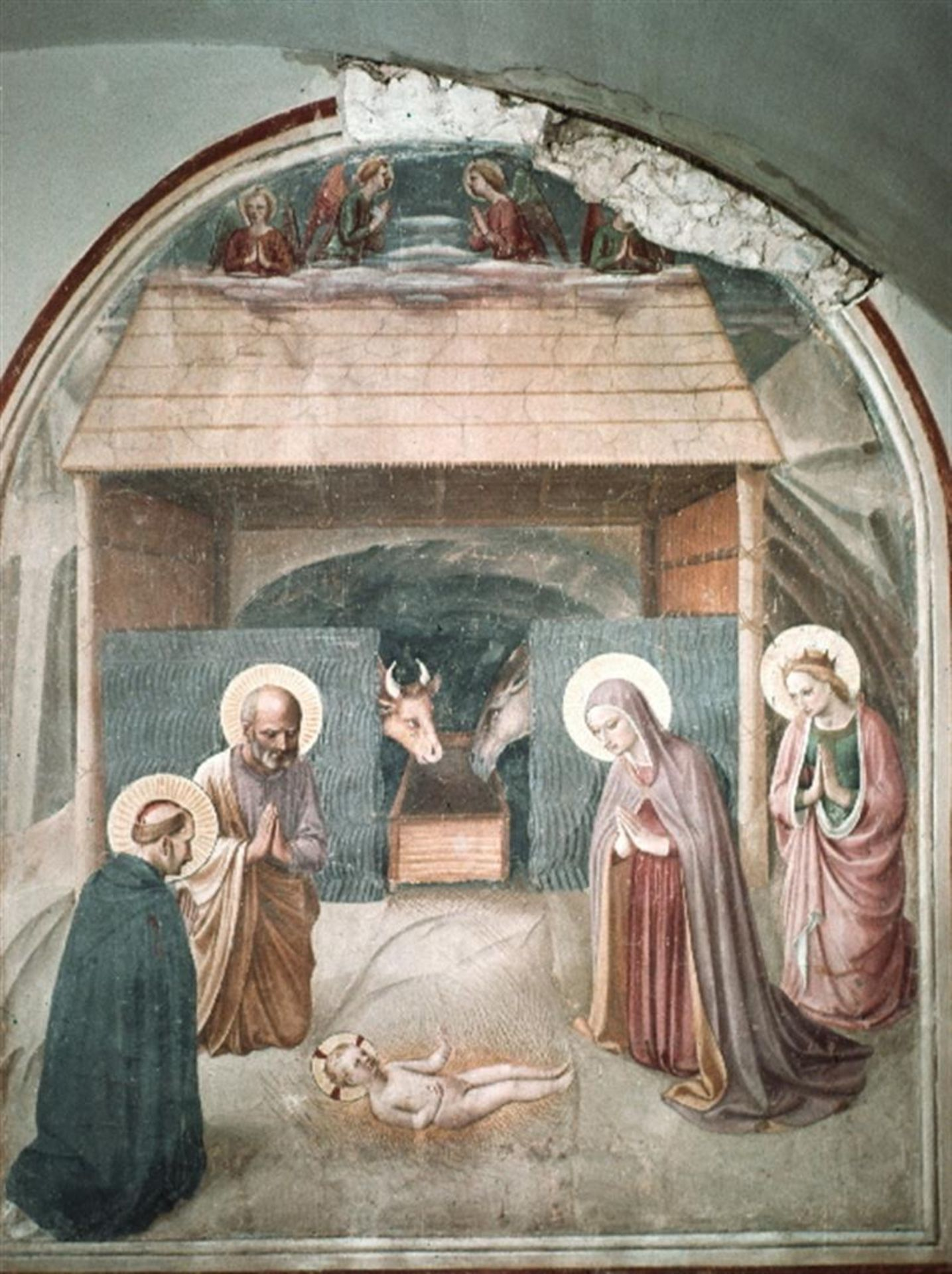 Fra Angelico - Birth of Christ