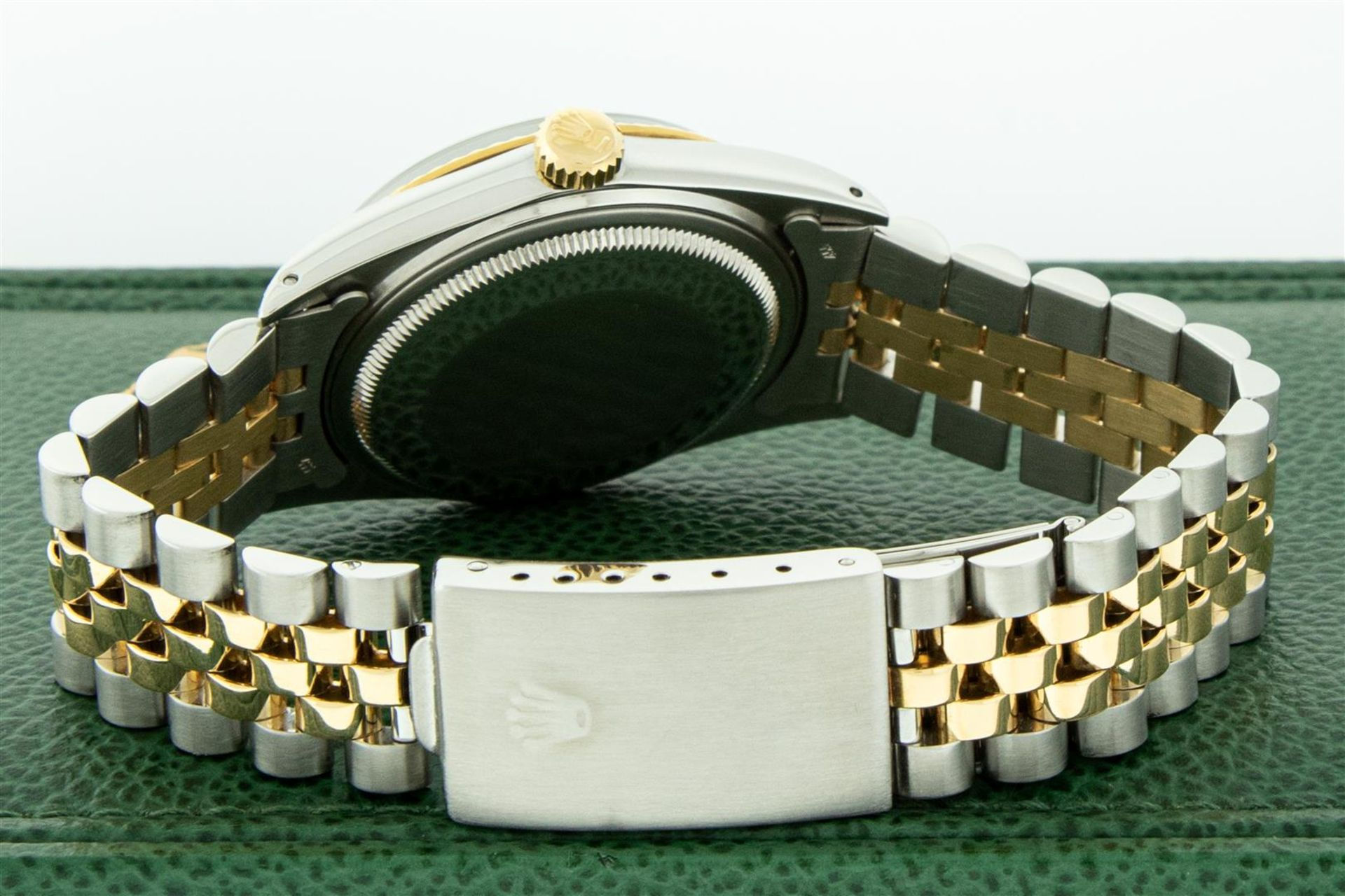 Rolex Mens 2 Tone MOP Diamond Lugs 36MM Datejust Wristwatch - Image 7 of 9