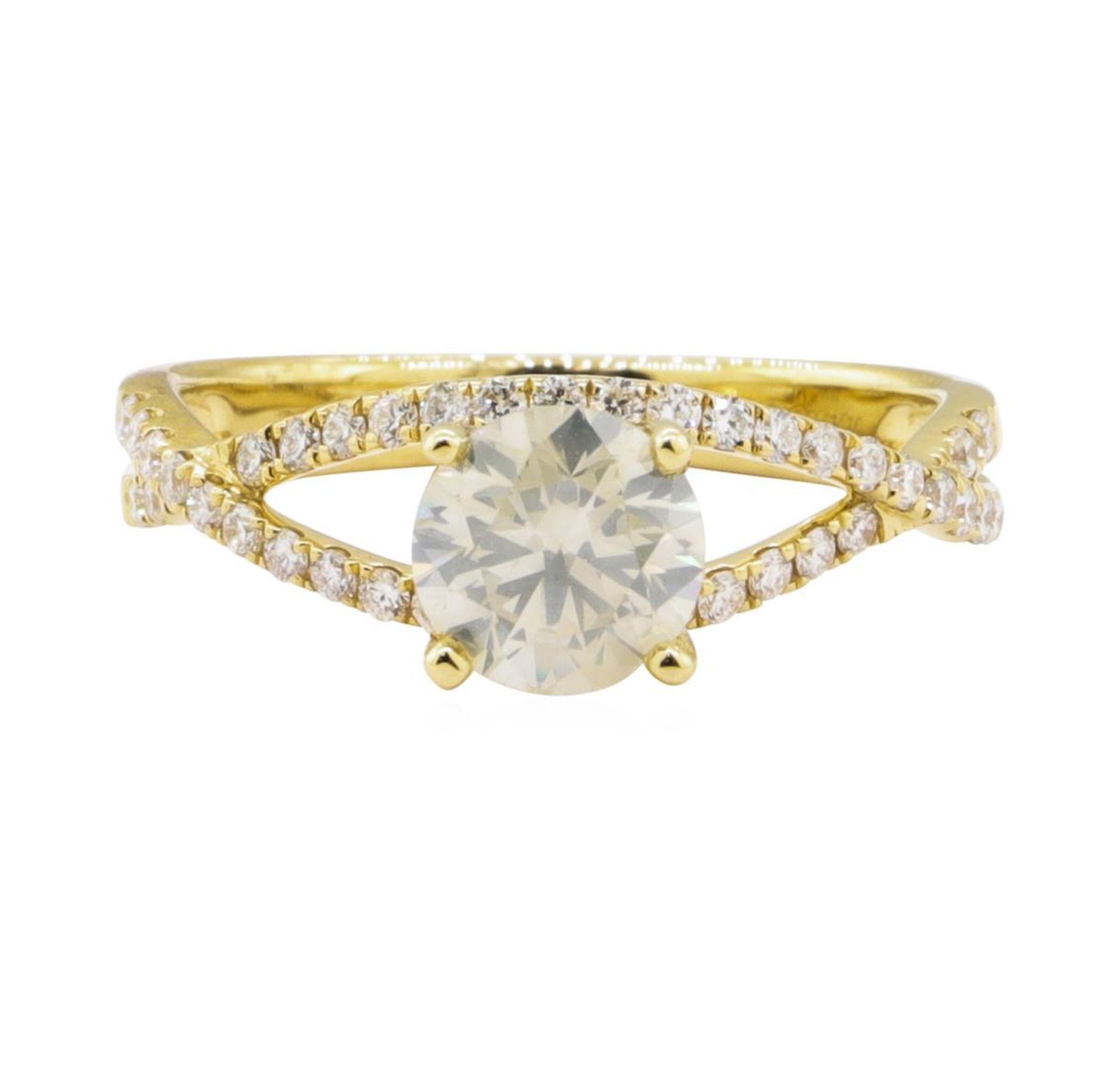 1.04ct Diamond Ring - 18KT Yellow Gold - Image 2 of 5