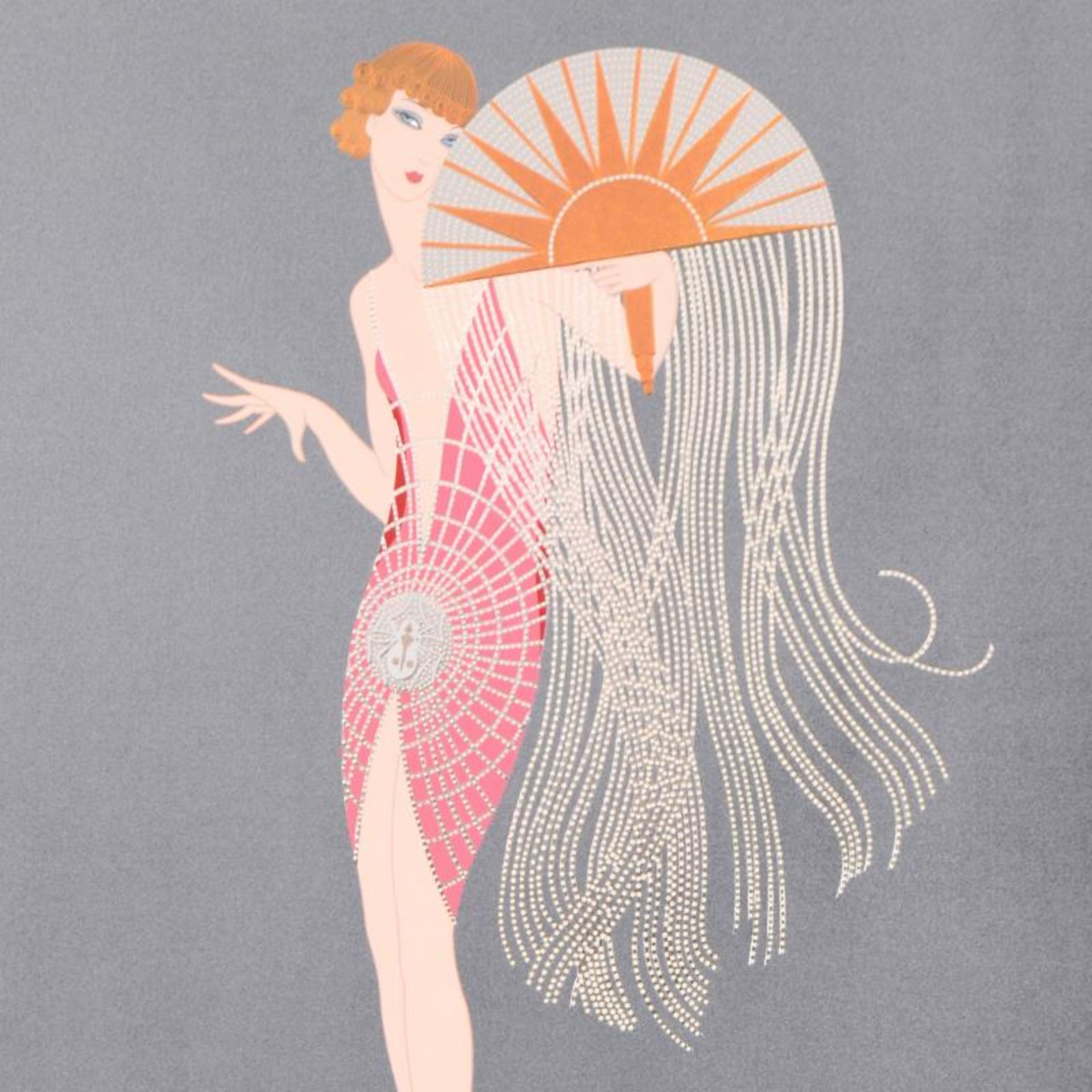 Flapper by Erte (1892-1990) - Image 2 of 2