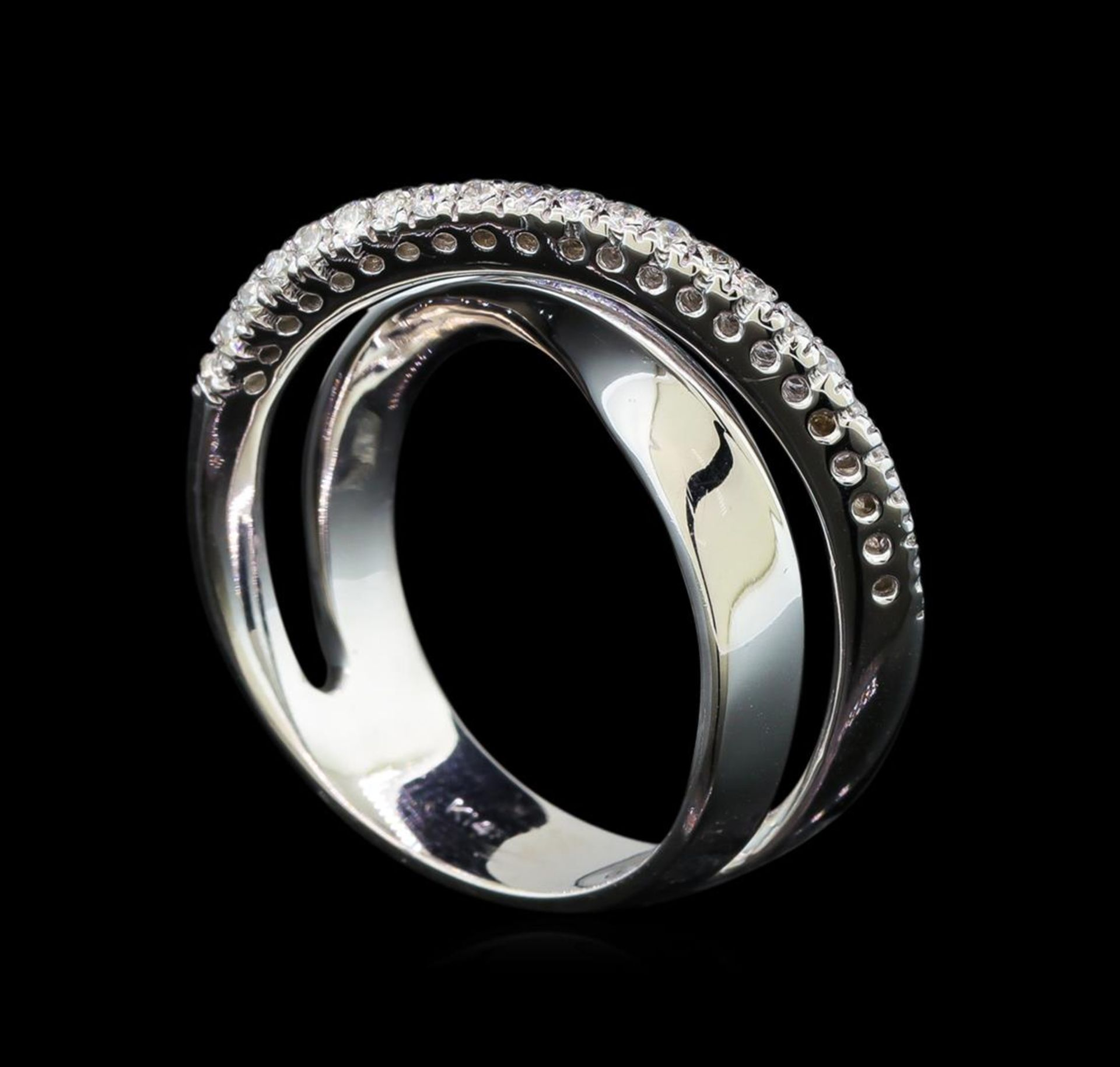 0.25 ctw Diamond Ring - 14KT White Gold - Image 3 of 3