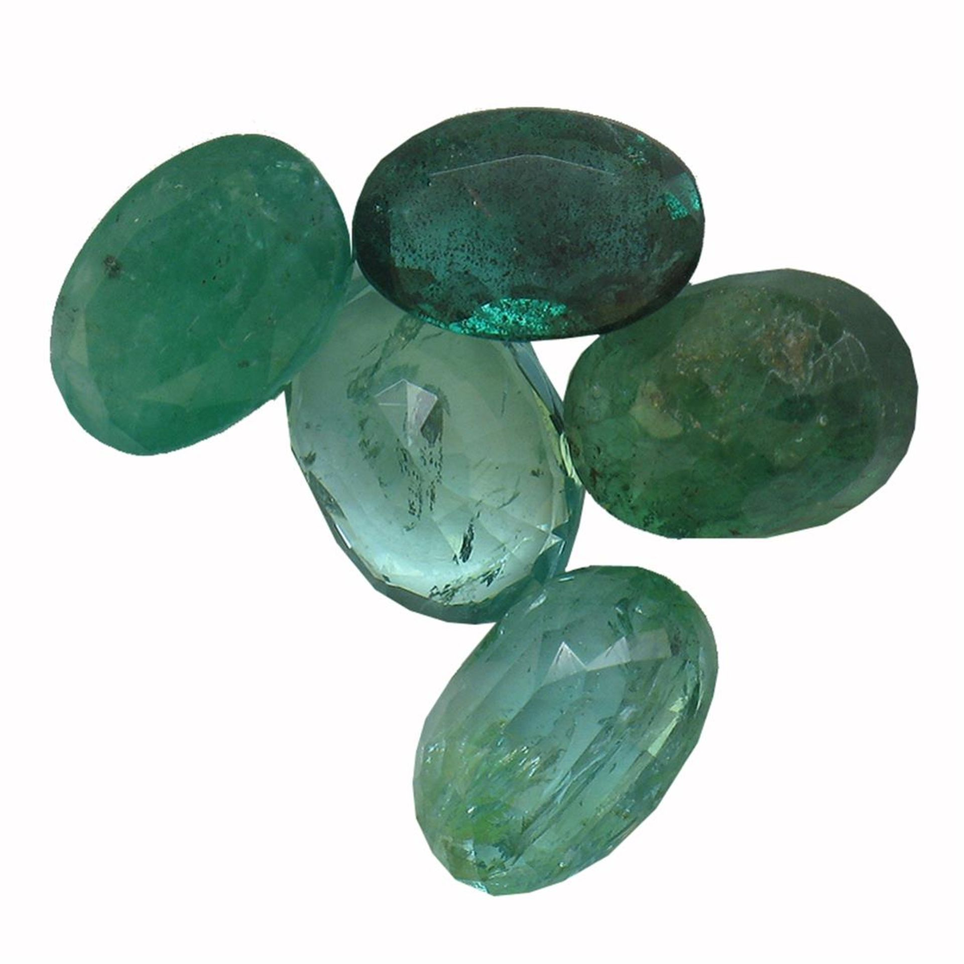 3.75ctw Oval Mixed Emerald Parcel