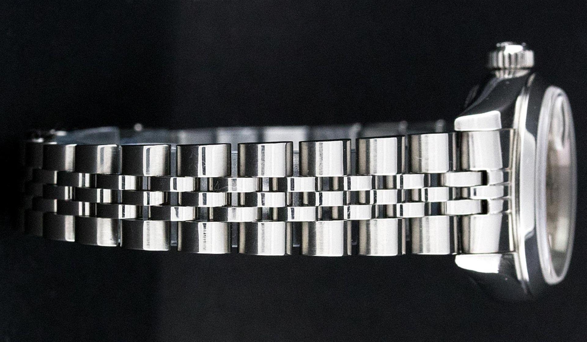 Rolex Ladies Stainless Steel Silver Index 26MM Quickset Datejust Wristwatch - Image 5 of 9
