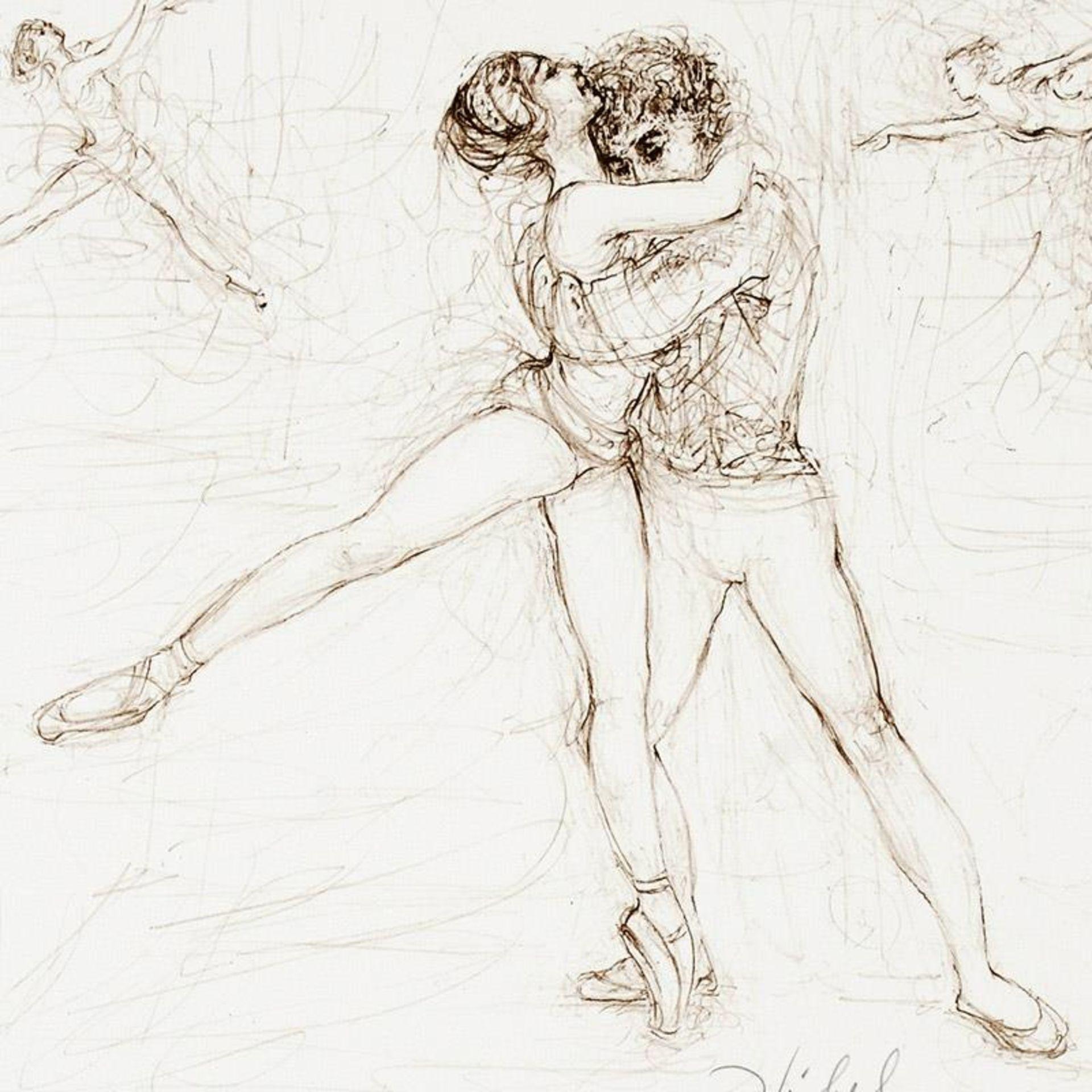Pas de Deux by Hibel (1917-2014) - Image 2 of 2