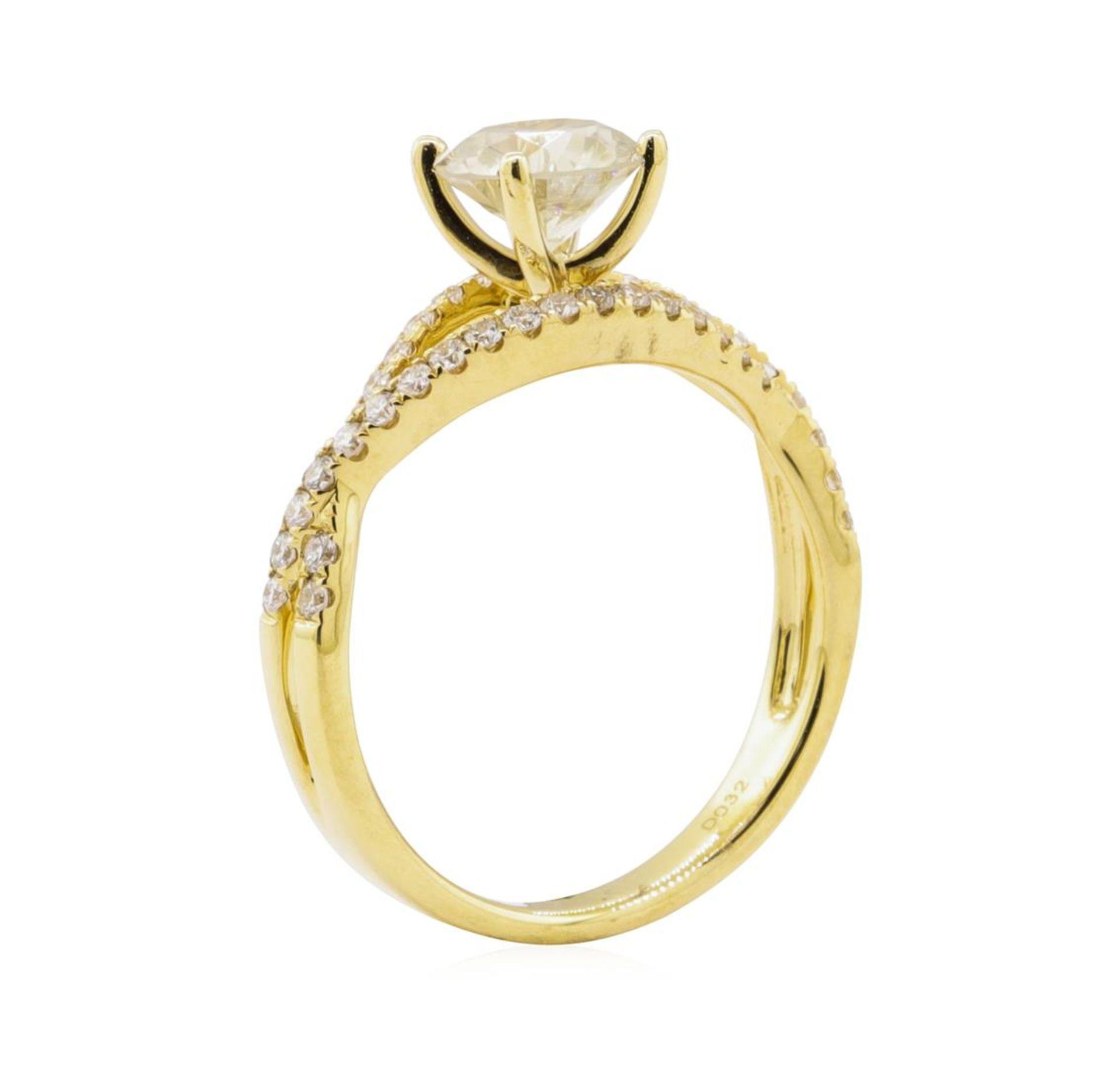 1.04ct Diamond Ring - 18KT Yellow Gold - Image 4 of 5