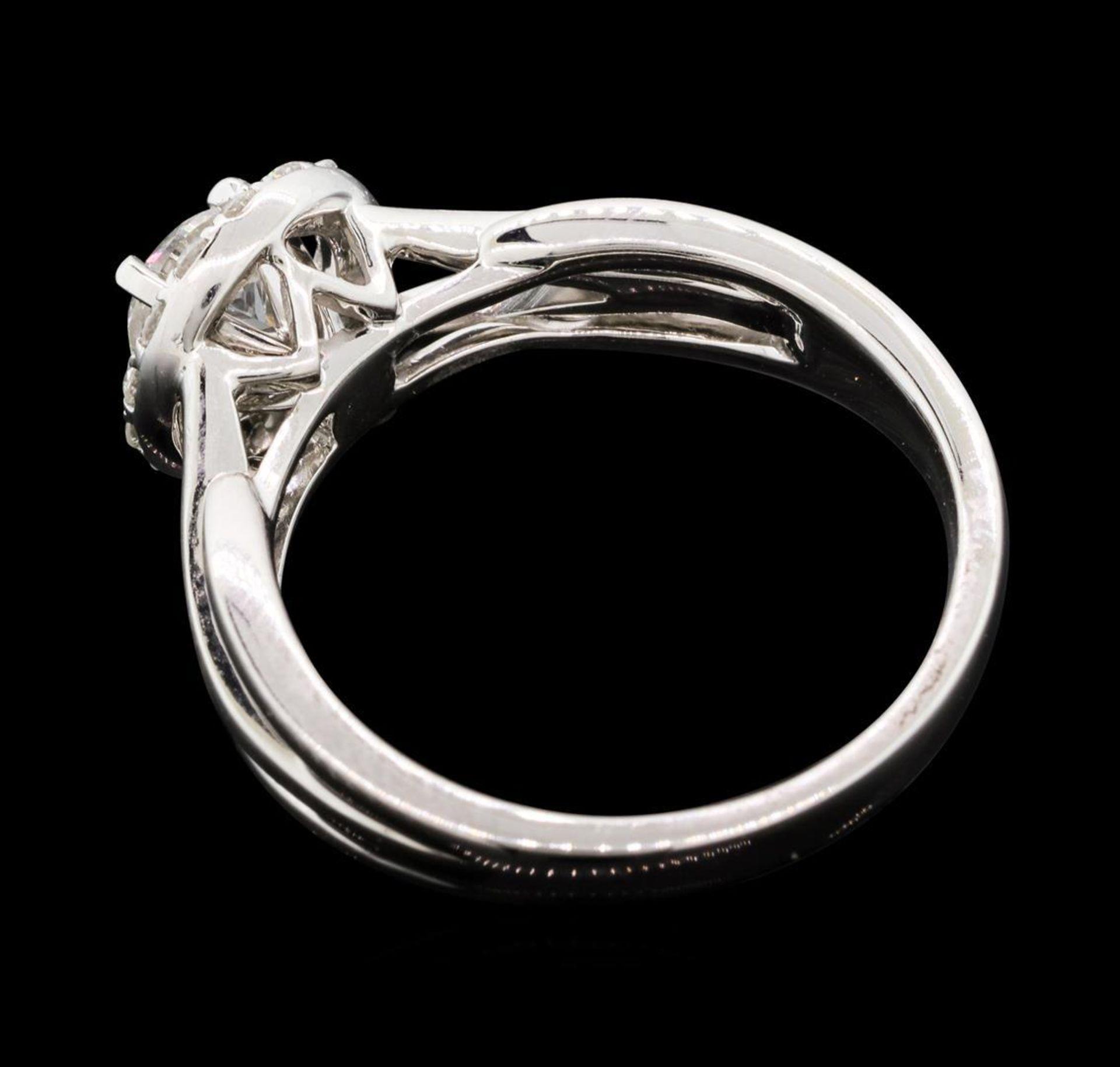 0.74 ctw Diamond Ring - 14KT White Gold - Image 3 of 5