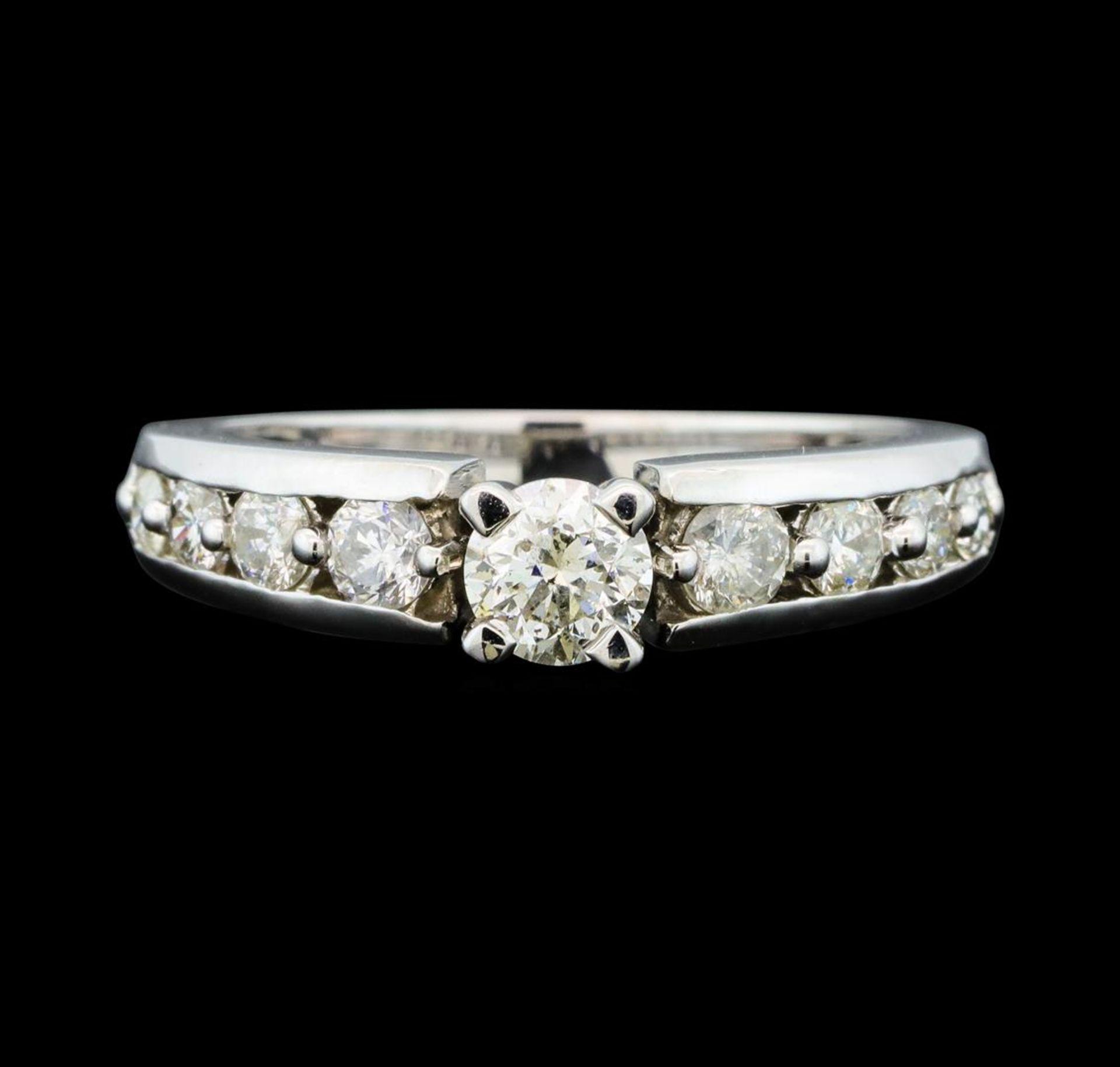 0.50 ctw Diamond Ring - 14KT White Gold - Image 2 of 4