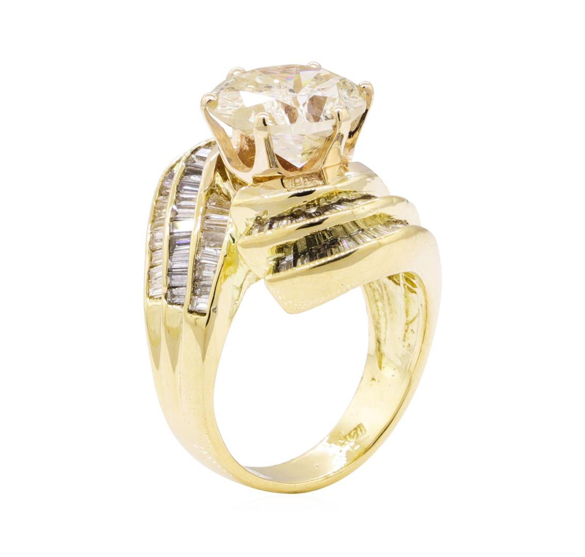 7.51 ctw Diamond Ring - 18KT Yellow Gold - Image 4 of 5