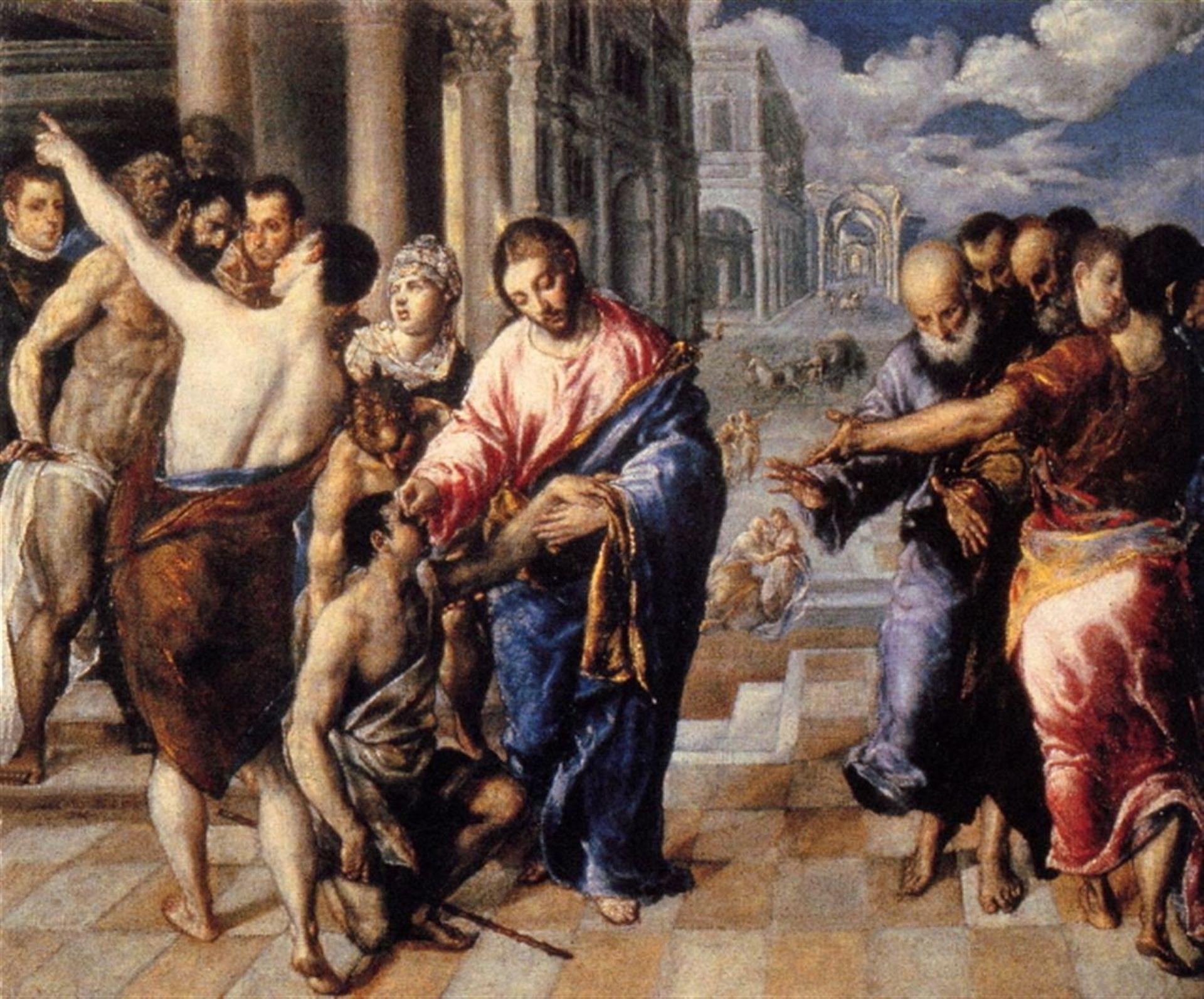 El Greco - Christ Healing the Blind