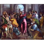 El Greco - Christ Drives the Dealers from the Temple [2]