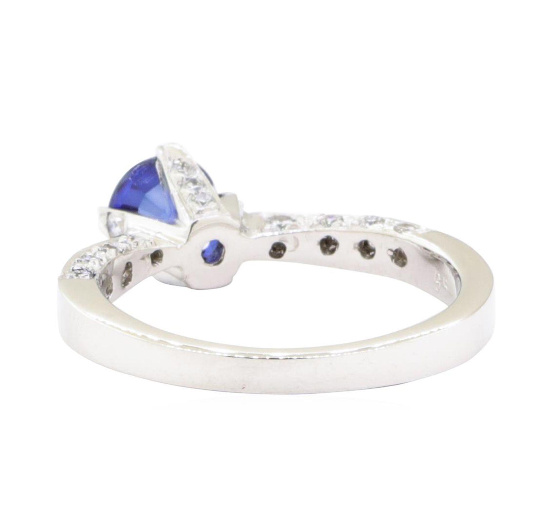 1.69 ctw Sapphire And Diamond Ring - Platinum - Image 3 of 5