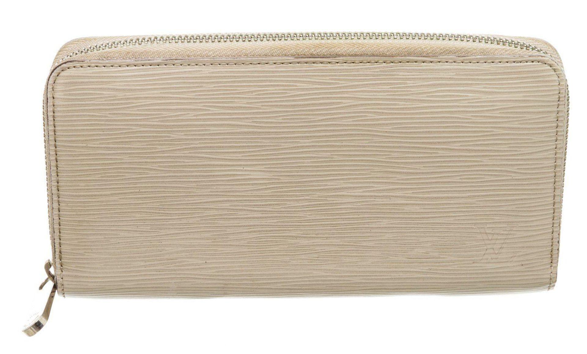 Louis Vuitton Mauve Epi Leather Monogram Zippy Wallet