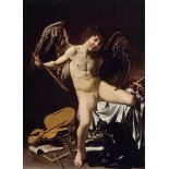 Michelangelo Merisi da Caravaggio - Cupid as Victor