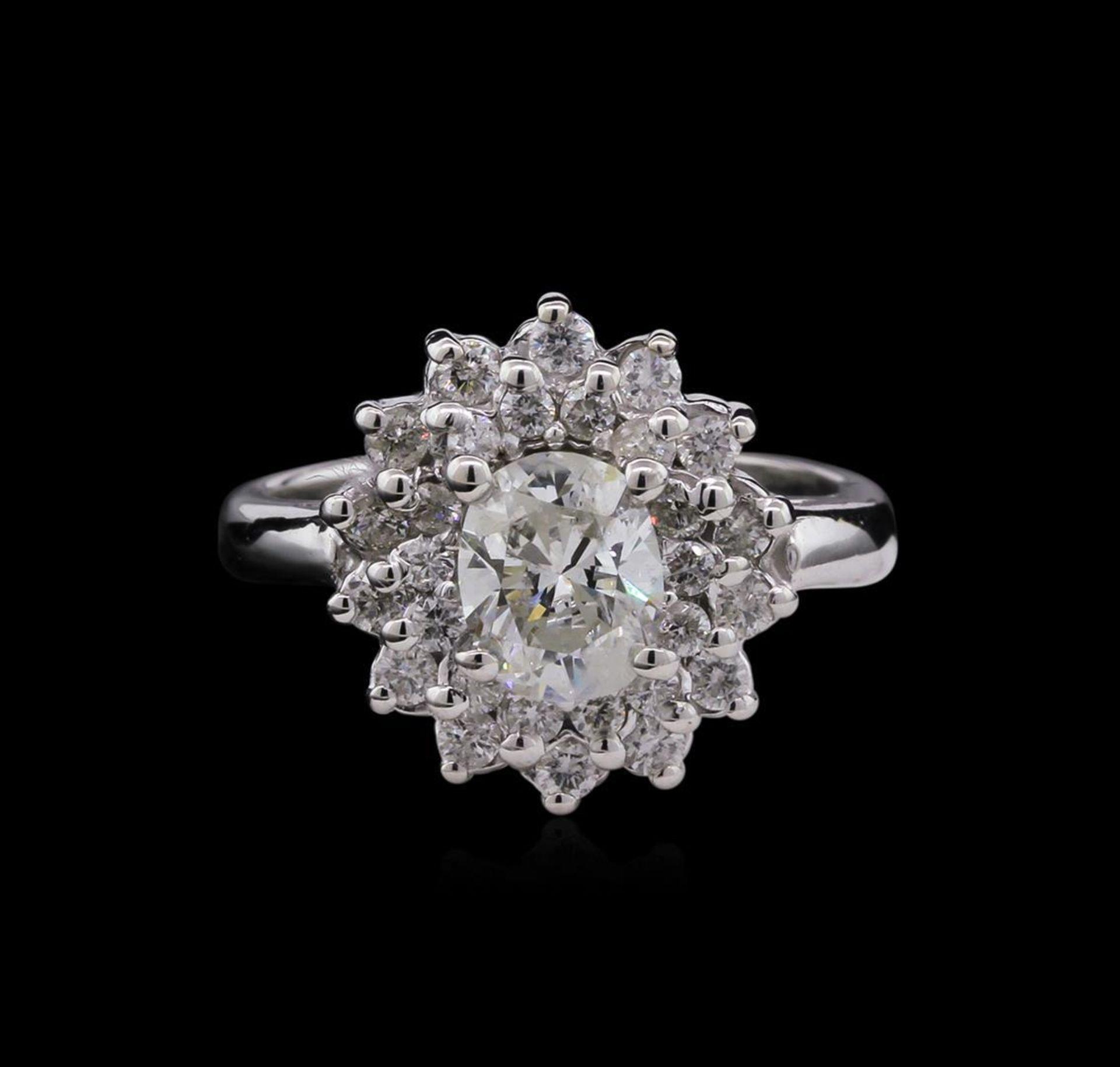 1.59 ctw Diamond Ring - 14KT White Gold - Image 2 of 3