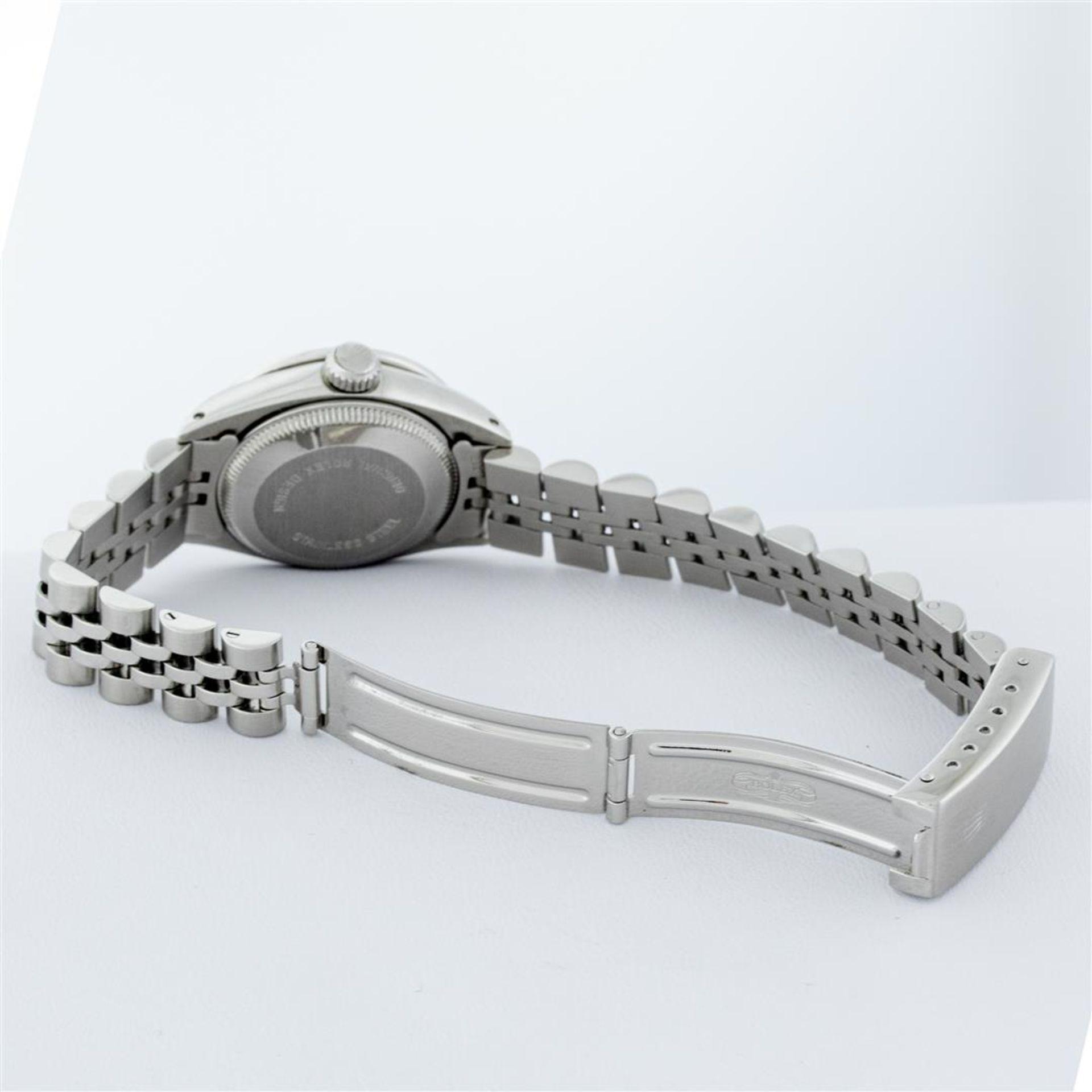 Rolex Ladies Stainless Steel White Diamond Lugs & Datejust Wristwatch - Image 9 of 9