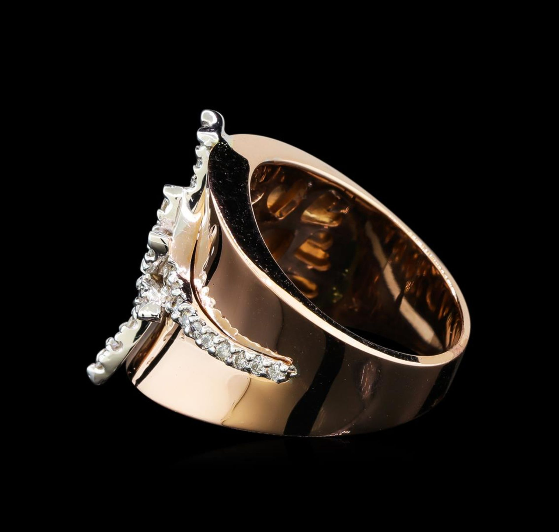 0.45ctw Diamond Ring - 14KT Two Tone Gold - Image 3 of 4
