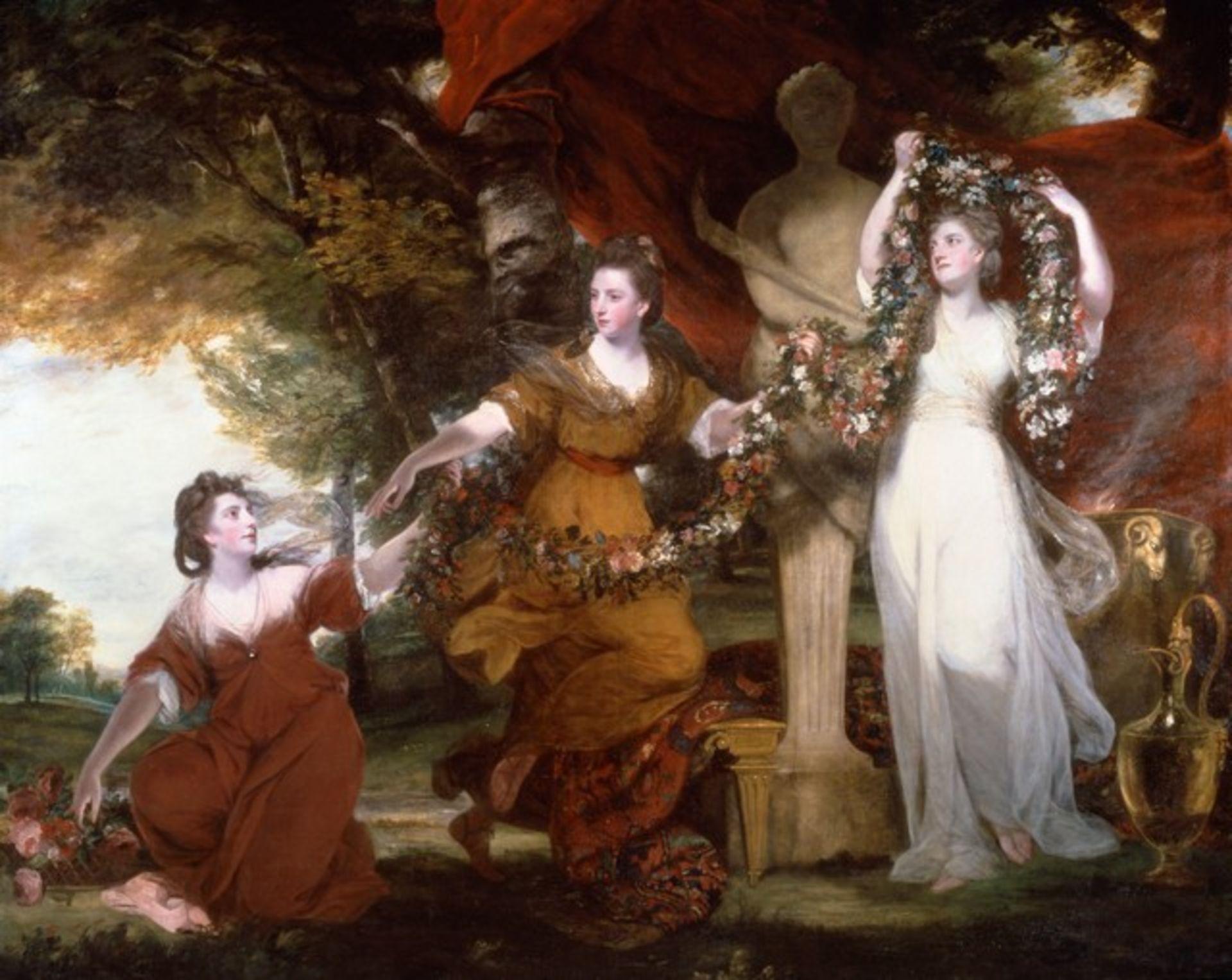 Sir Joshua Reynolds - Three Ladies Adorning a Term of Hymen