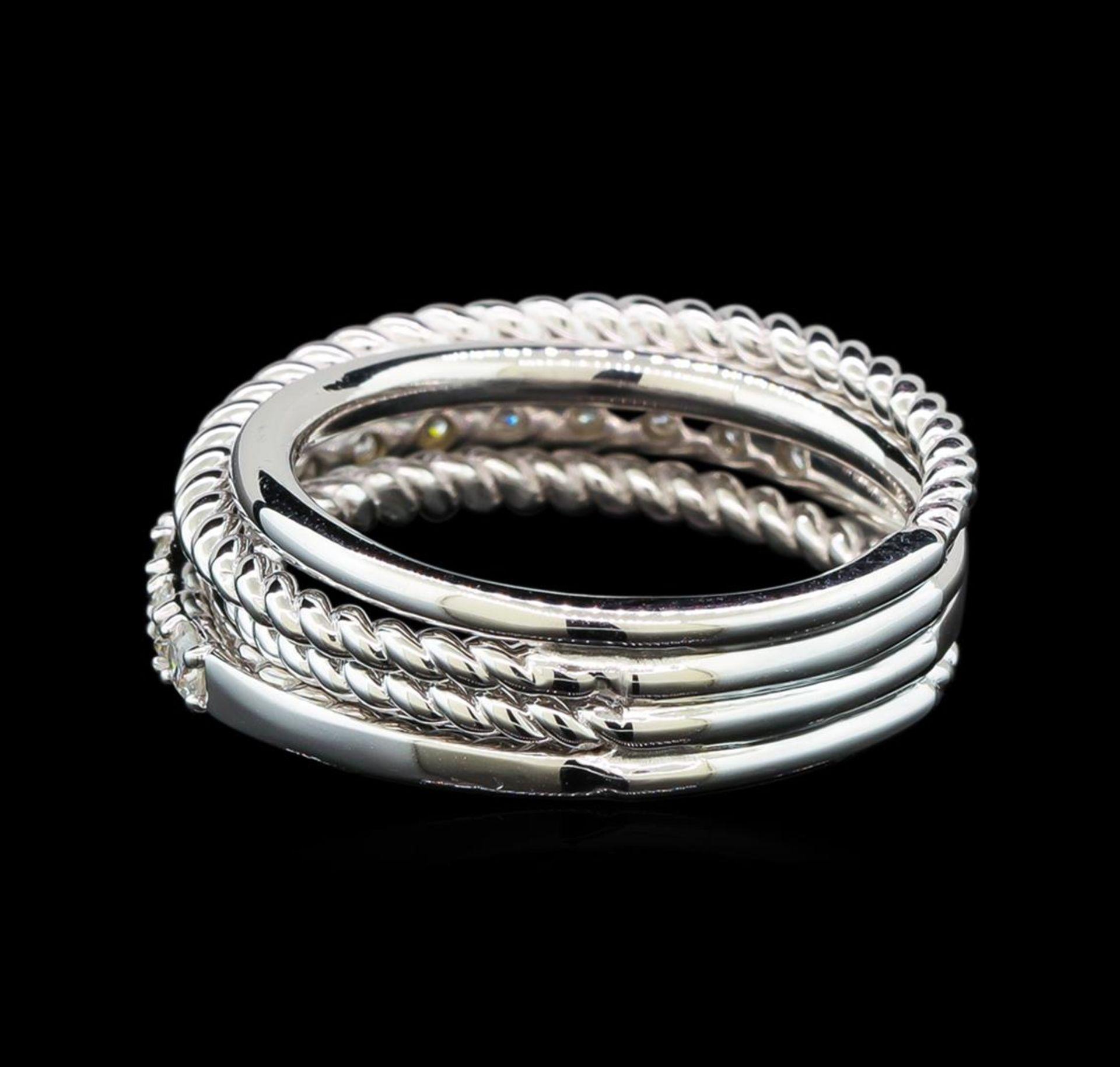 0.65 ctw Diamond Ring - 14KT White Gold - Image 2 of 3