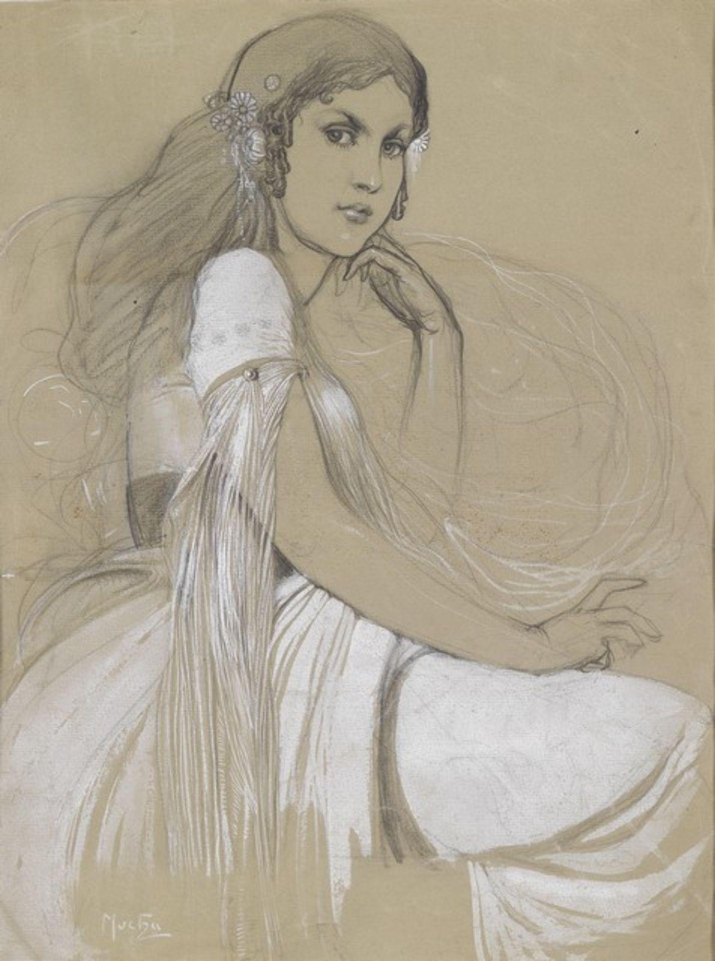 Alphonse Mucha - Jaroslava Mucha