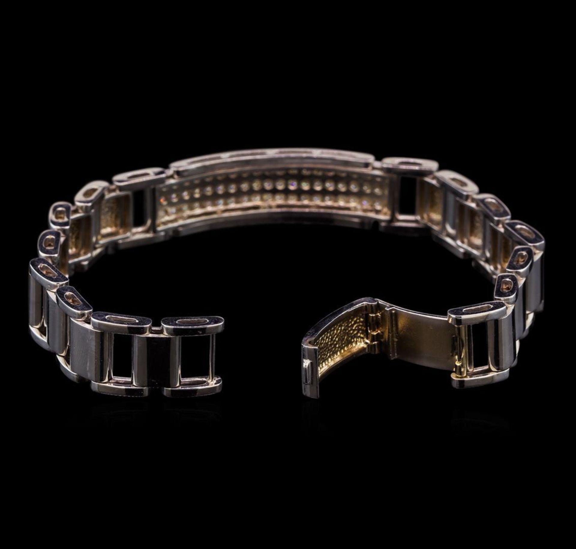1.44 ctw Diamond Bracelet - 14KT White Gold - Image 3 of 4