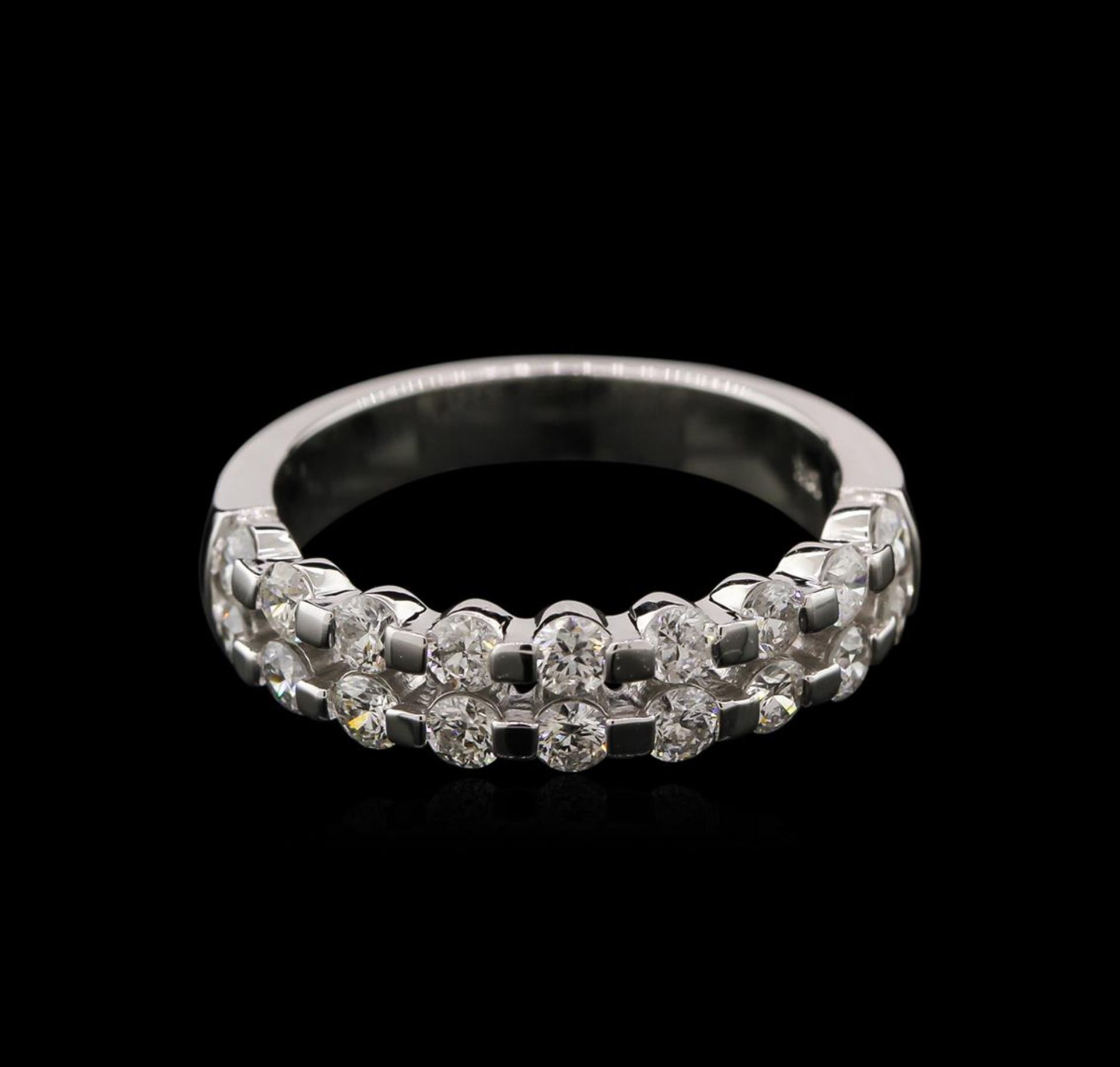 1.05ctw Diamond Ring - 14KT White Gold - Image 2 of 2