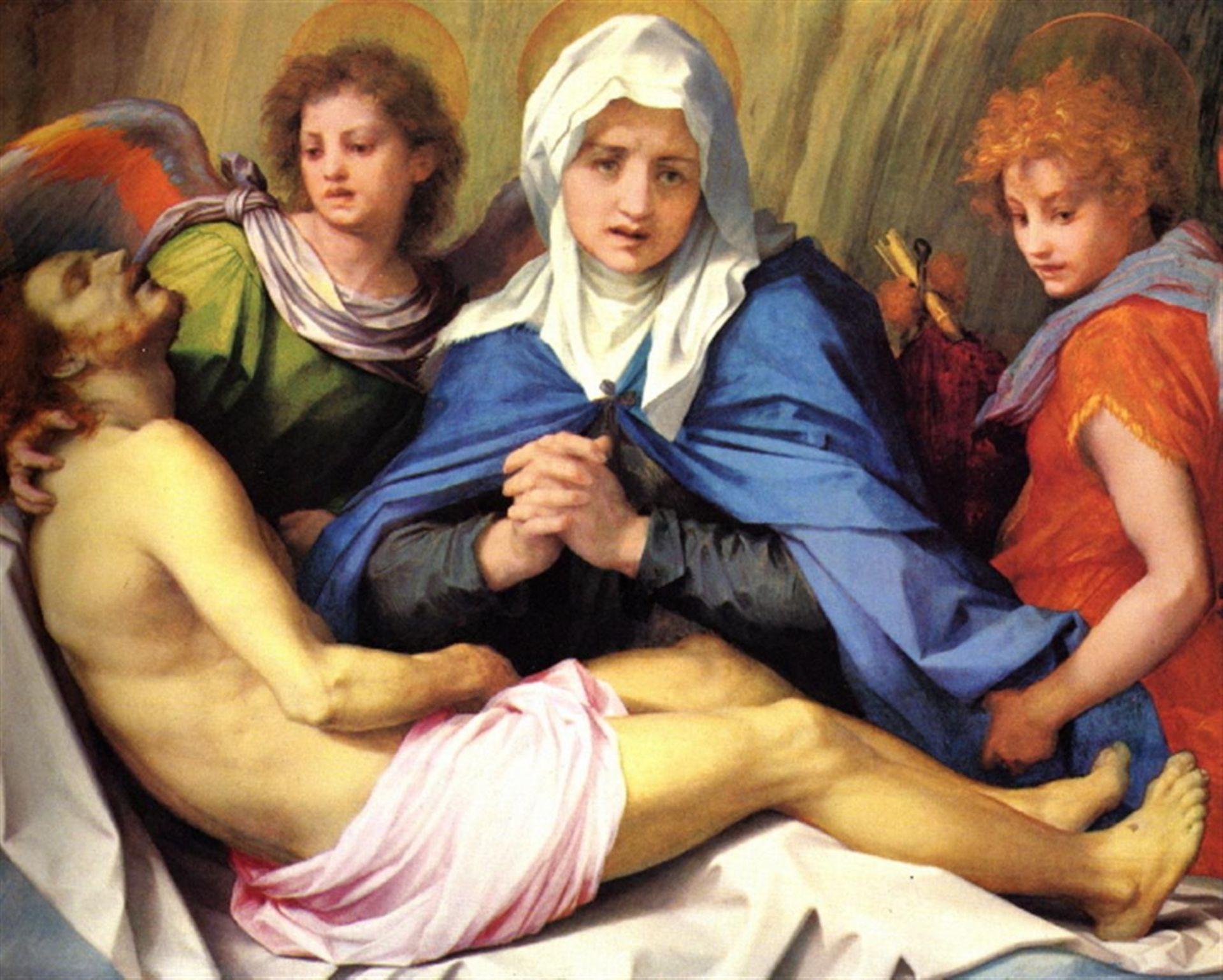 Andrea del Sarto - Mourning of Christ