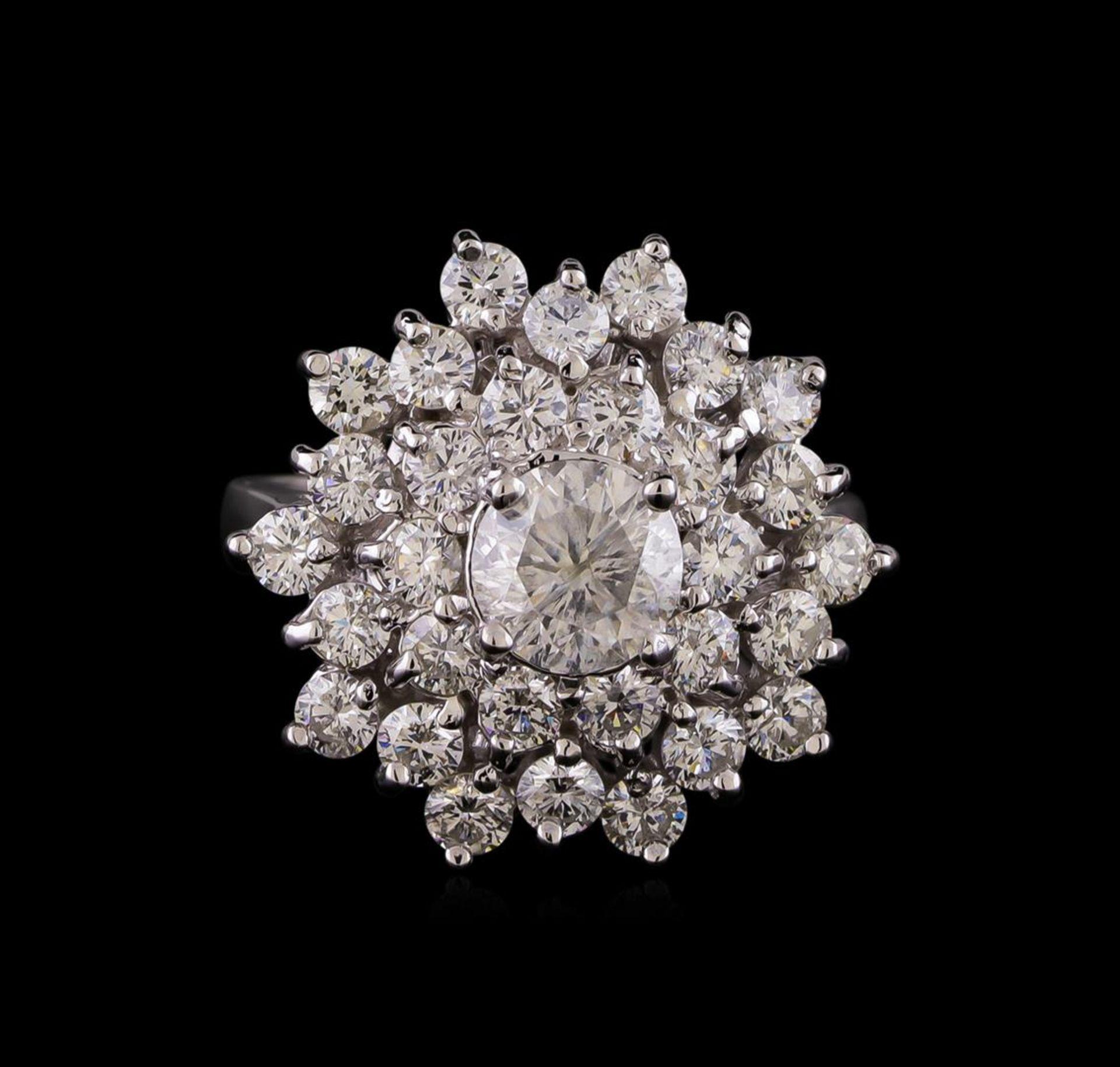 14KT White Gold 2.64 ctw Diamond Ring - Image 2 of 5