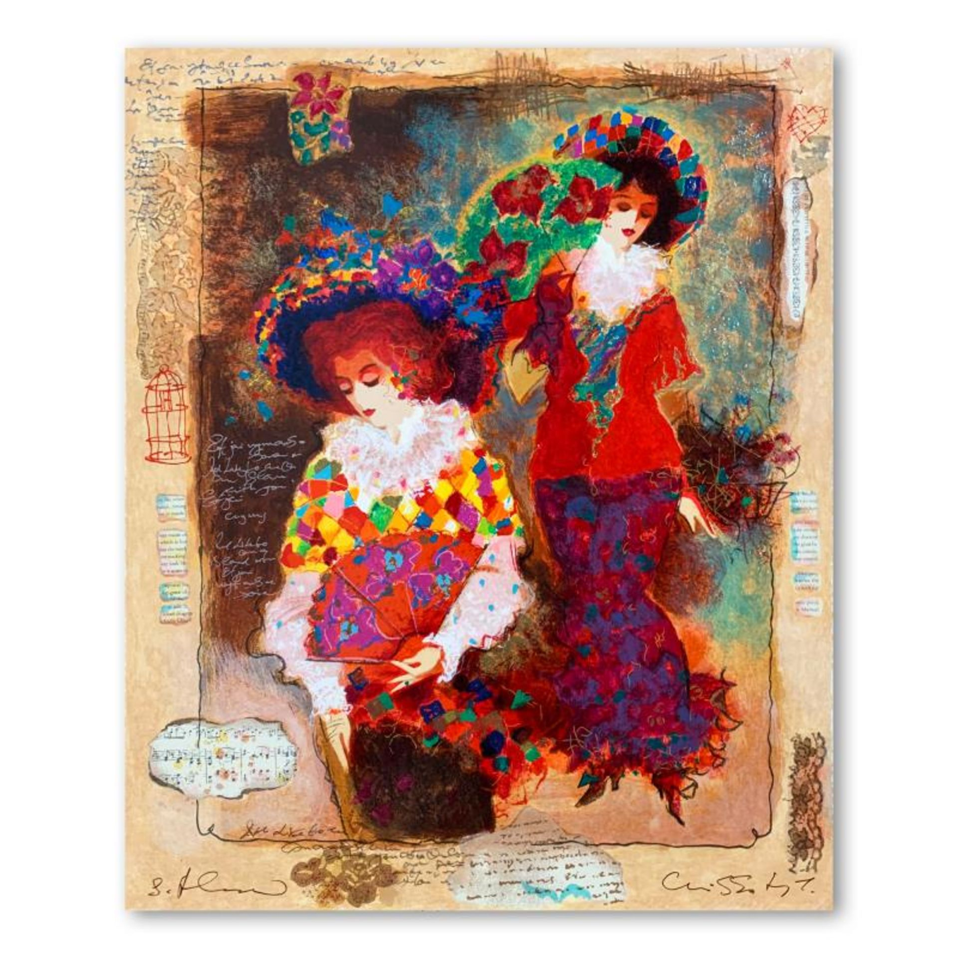 Elegant Women by Alexander & Wissotzky
