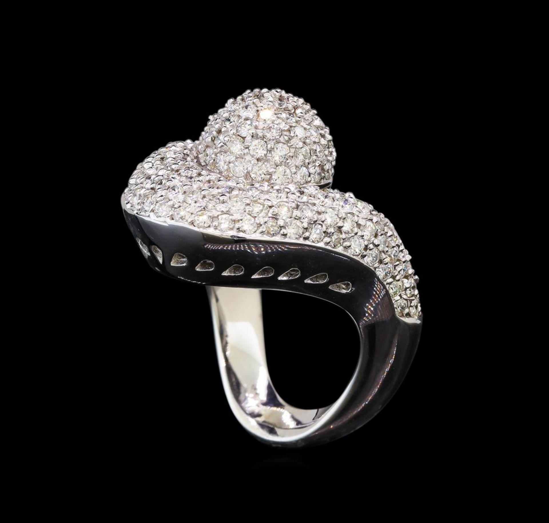 14KT White Gold 1.06 ctw Diamond Ring - Image 4 of 5