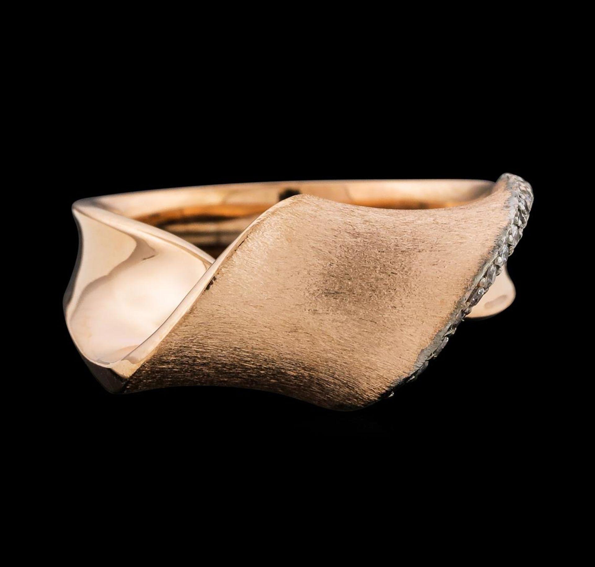 0.15 ctw Diamond Ring - 14KT Rose Gold - Image 2 of 4