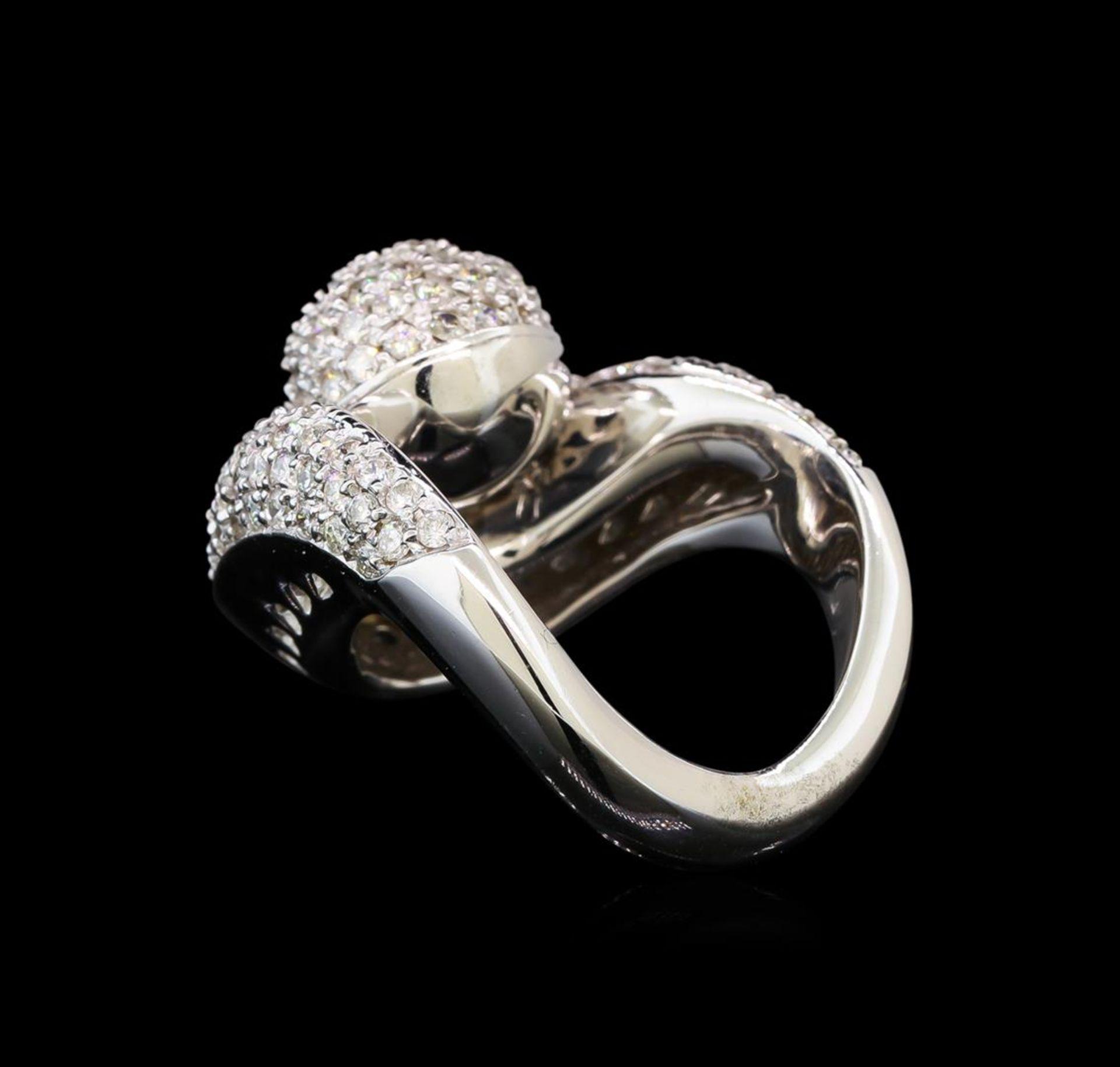 14KT White Gold 1.06 ctw Diamond Ring - Image 3 of 5