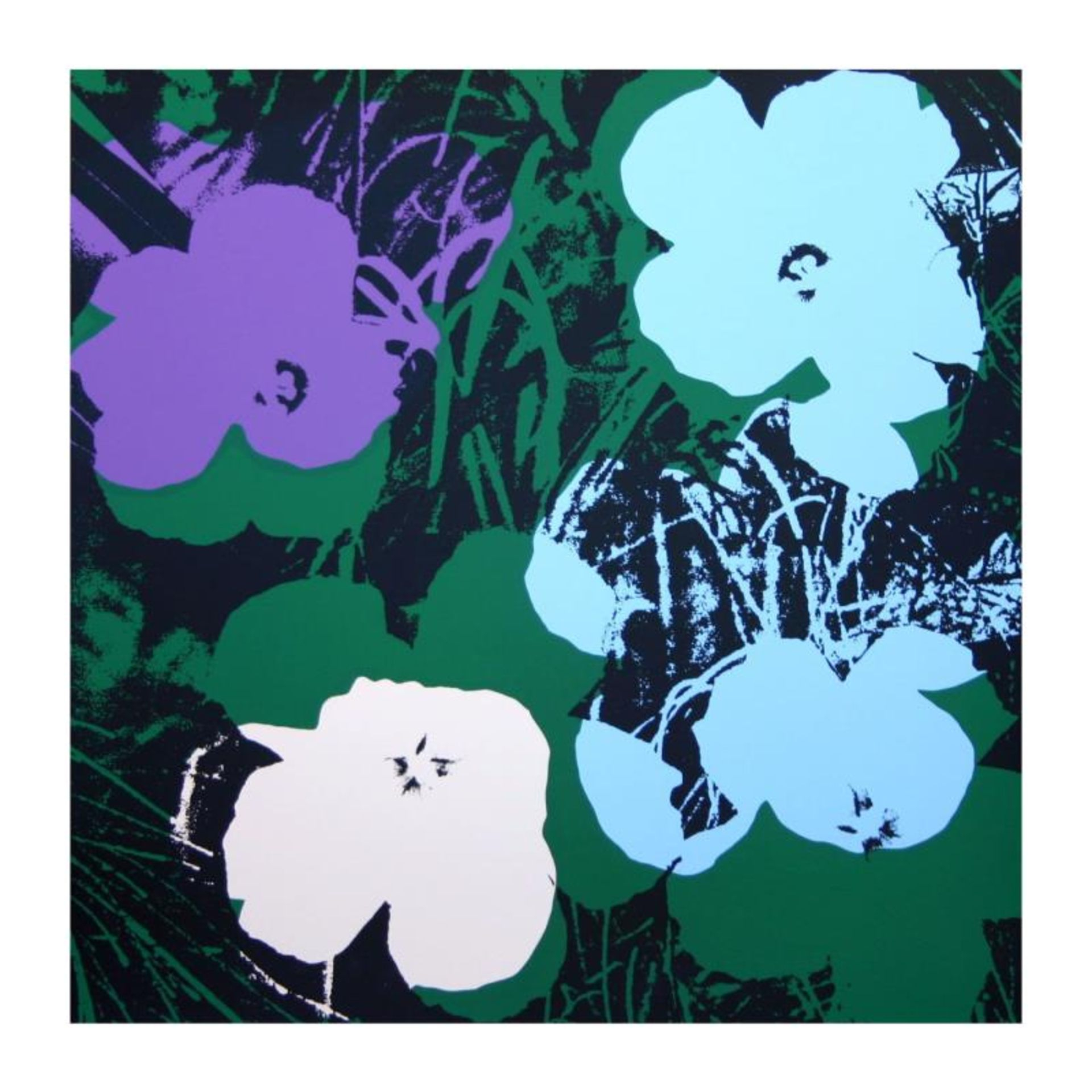 Flowers Portfolio by Warhol, Andy - Image 2 of 3